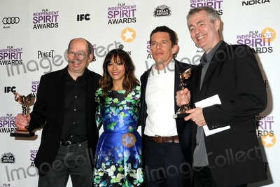 Alex Kotlowitz Photo - 25 February 2012 - Santa Monica California - Alex Kotlowitz Rashida Jones Ethan Hawk Steve James 2012 Film Independent Spirit Awards - Press Room held at Santa Monica Beach Photo Credit Byron PurvisAdMedia