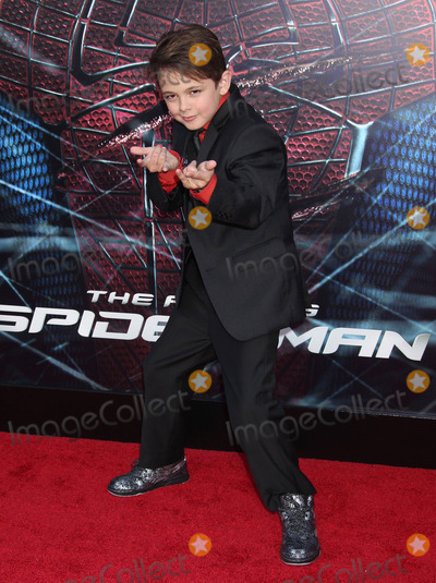 Spider Man,Spider-Man,Max Charles,Spiderman Photo - The Amazing Spider-Man Los Angeles Premiere
