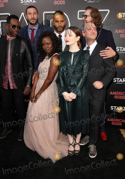 Bryan Fuller,Emily Browning Photo - American Gods Premiere