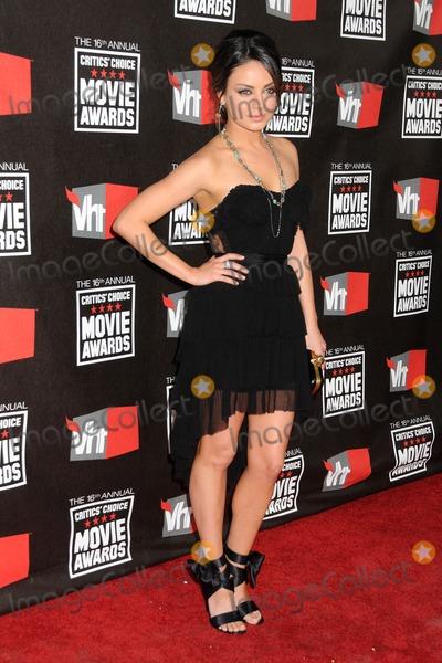 Mila Kunis Photo - 16th Annual Critics Choice Movie Awards
