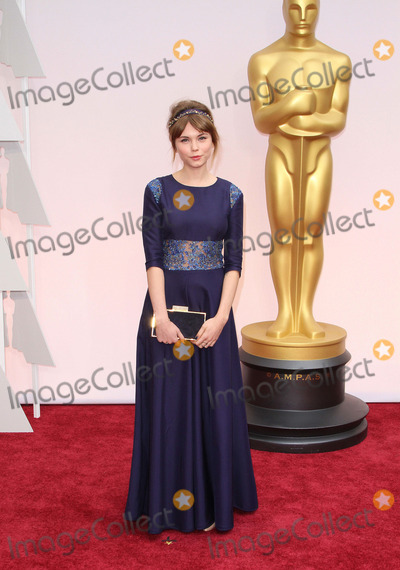 Agata Trzebuchowska Photo - 87th Annual Academy Awards - Arrivals