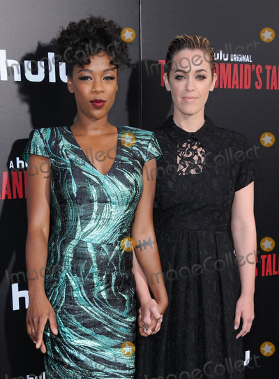 Photo - 25 April 2017 - Hollywood California - Samira Wiley Laura Morelli Los Angeles premiere of Hulus The Handmaids Tale held at ArcLight Hollywood in Hollywood Photo Credit Birdie ThompsonAdMedia