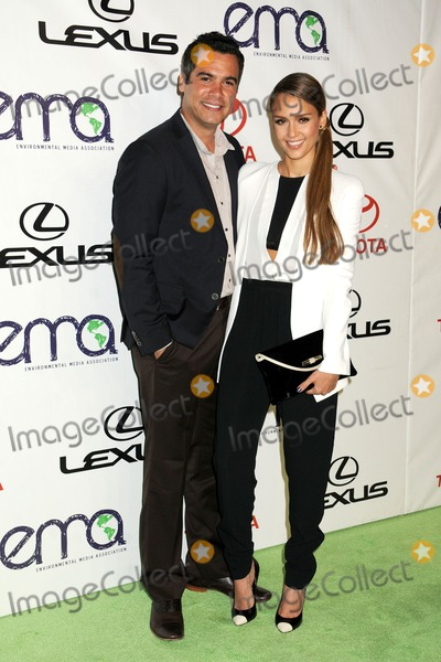 Cash Warren,Jessica Alba Photos - 29 September 2012 - Burbank California - Cash Warren Jessica Alba 2012 Environmental Media Awards held at Warner Bros Studios Photo Credit Byron PurvisAdMedia