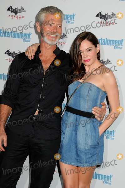 Rose Mc Gowan,Stephen Lang Photo - 5th Annual Entertainment Weekly Comic-Con Party
