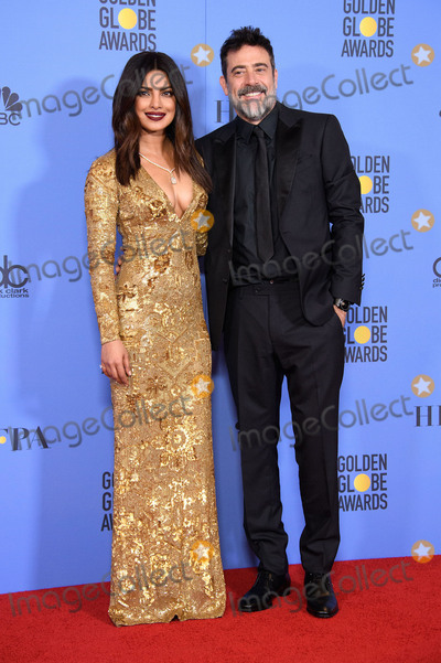 Photos From 74th Annual Golden Globes Awards - Press Room