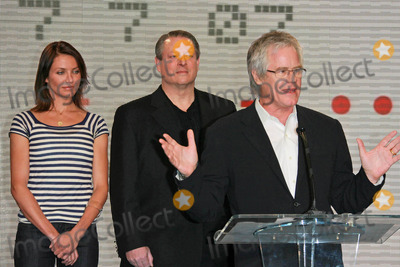 Cameron Diaz,Al Gore,KEVIN WALL Photo - Global Climate Crisis Campaign Concert Press Conference
