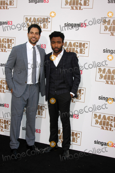 Adam Rodriguez Photo - Adam Rodriguez Donald Glover at the Magic Mike XXL Premiere TCL Chinese Theater Hollywood CA 06-25-15