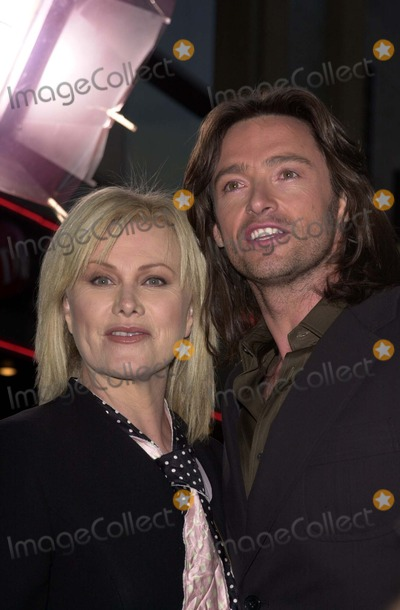 Hugh Jackman,Deborra Lee Furness,Deborra Lee-Furness,Deborra-Lee Furness Photo - X2 X-Men United Premiere