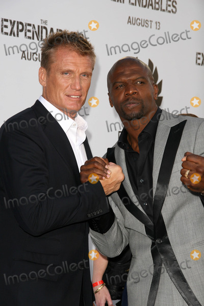 Dolph Lundgren,Terry Crews Photo - The Expendables Film Screening