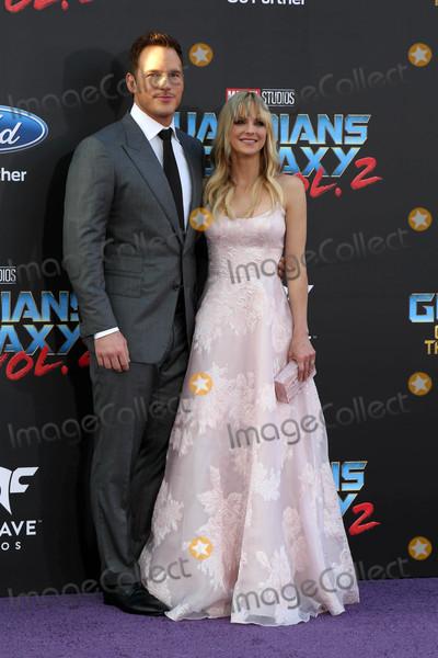 Anna Faris,Chris Pratt Photo - Guardians of the Galaxy Vol 2  Los Angeles Premiere