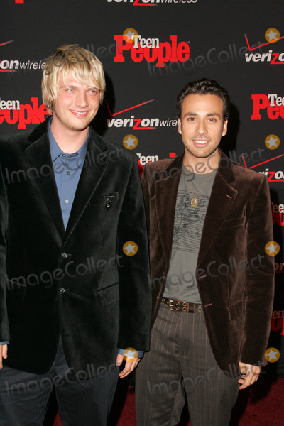 Howie Dorough,Nick Carter Photo - Teen Peoples 4th Annual Artists of the Year Party