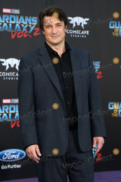Nathan Fillion Photo - Guardians of the Galaxy Vol 2  Los Angeles Premiere
