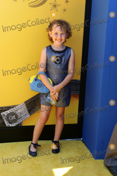 Photo - LOS ANGELES - JUN 24  Nev Scharrel at the Despicable Me 3 Premiere at the Shrine Auditorium on June 24 2017 in Los Angeles CA