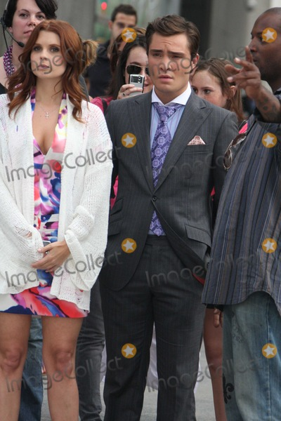 Ed Westwick,Leighton Meester,JoAnna Garcia,Chase Crawford,THE SET,Chace Crawford Photo - Gossip Girl - Archival Pictures - PHOTOlink - 106054