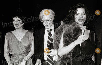 Bianca Jagger,Andy Warhol,Liza Minelli,Liza Minelli Photo - ADAM SCULL STOCK - Archival Pictures - PHOTOlink - 104509