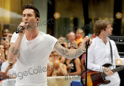 Maroon 5,Adam Levine,Mickey Madden Photo - Maroon 5 in concert