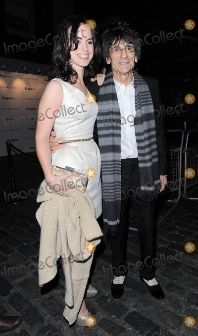 Ron Wood Photo - Photo by KGC-296starmaxinccomSTAR MAX2013ALL RIGHTS RESERVEDTelephoneFax (212) 995-11961713Ron Wood and Sally Wood out and about(London England)US syndication only