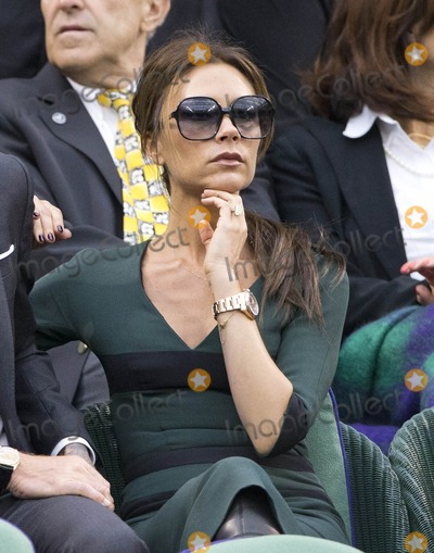 Victoria Beckham Photo - Celebs at Wimbledon
