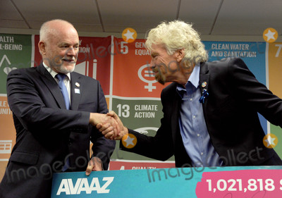 Photos From Richard Branson and Alexandra Richards - Ocean Protection