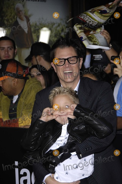 Johnny Knoxville,Jackson Nicoll Photo - Bad Grandpa Premiere