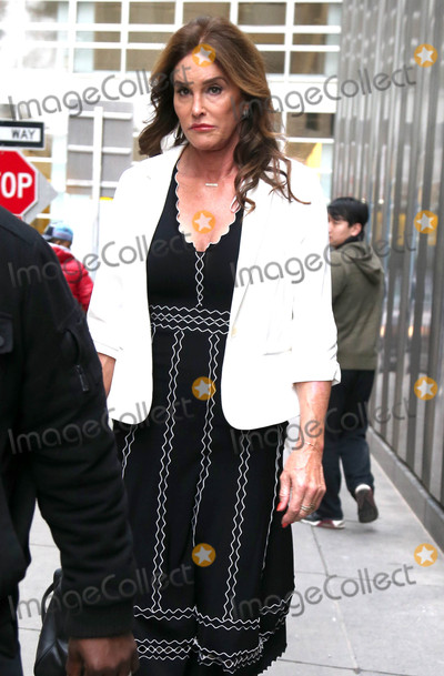 Photos From Caitlyn Jenner is seen in New York City