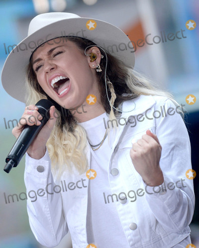 Photos From Miley Cyrus on 'The Today Show' in New York City