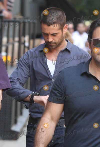THE SET,Colin Farrell Photo - Dead Man Down Filming In NY