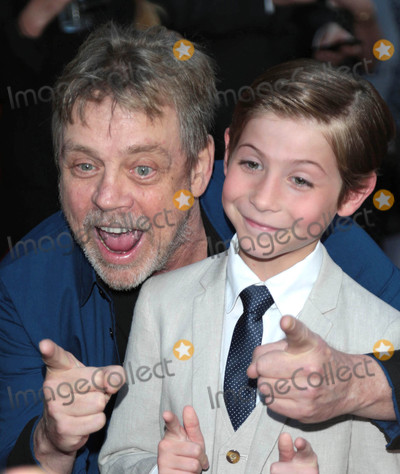 Photos From Mark Hamill and Jacob Tremblay at the premiere of 'The Book of Henry'