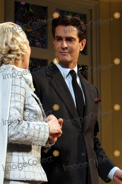 Jayne Atkinson Photo - Jayne Atkinson and Rupert Everett Curtain Call on Opening Night of Noel Cowards Blithe Spirit at the Shubert Theatre in New York City on 03-15-2009 Photo by Henry McgeeGlobe Photos Inc 2009