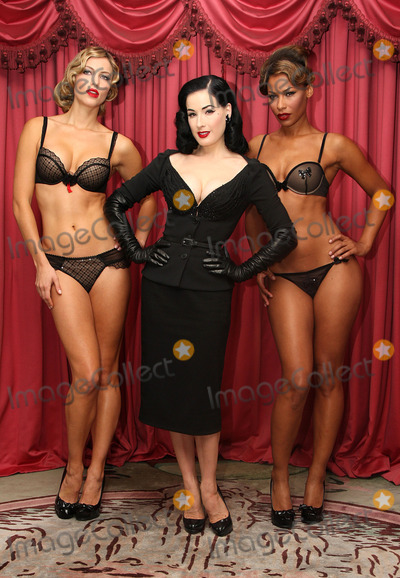 Pictures From DITA VON TEESE LINGERIE COLLECTION