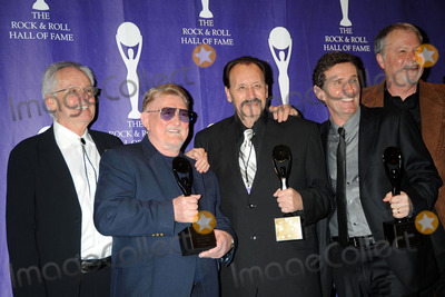 Don Wilson Photo - Honorees John Durrill Don Wilson Nokie Edwards Leon Taylor Bob Spalding of The Ventures in the press room at the 2008 Rock  Roll Hall of Fame Induction ceremony at the Waldorf-Astoria Hotel in midtown Manhattan