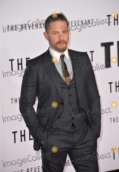 Tom Hardy Photo - Actor Tom Hardy at the Los Angeles premiere of his movie The Revenant at the TCL Chinese Theatre Hollywood December 16 2015  Los Angeles CAPicture Paul Smith  Featureflash