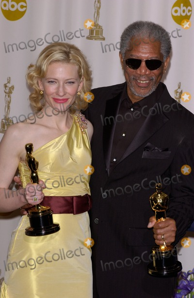 Cate Blanchett,Morgan Freeman,CATE BLANCHETTE Photo - Academy Awards