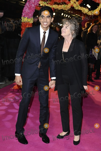 Dev Patel Photo - Dev Patel and actress Penelope Wilton arriving for the premiere of The Best Exotic Marigold Hotel at the Curzon Mayfair cinema London 07022012 Picture by Steve Vas  Featureflash