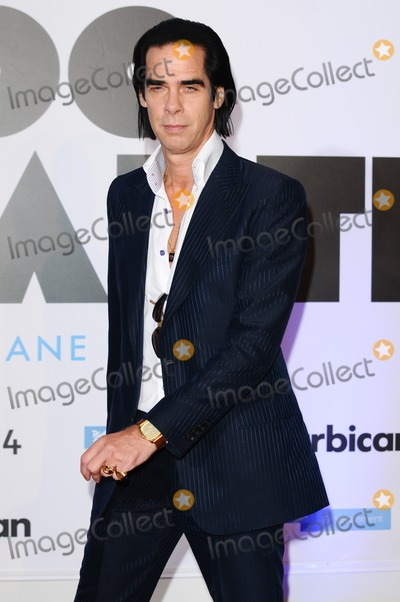 Photo - Nick Cave arriving for the 20000 Days on Earth Gala Screening at the Barbican Centre London 17092014 Picture by Steve Vas  Featureflash