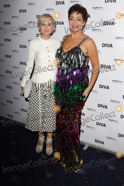 Photo - London UK Lisa Maxwell and Denise Welch at DIVA 250 Awards at Cafe de Paris Coventry Street London on Thursday 23 March 2017Ref LMK73-J113-240317Keith MayhewLandmark MediaWWWLMKMEDIACOM
