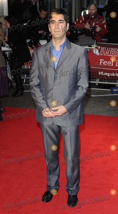 Andrew Litvin Photo - London UK Andrew Litvin at the Ginger  Rosa official screening LFF Day 4 held at the Odeon West End cinema Leicester Square 13th October 2012Can NguyenLandmark Media