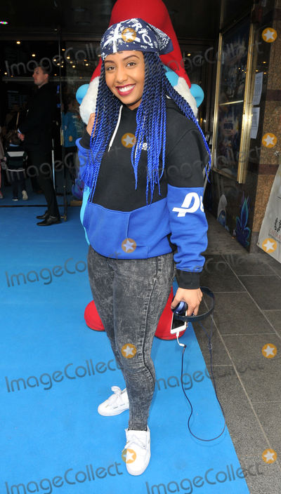 Jade Avia,112 Photo - Smurfs The Lost Village Gala film screening
