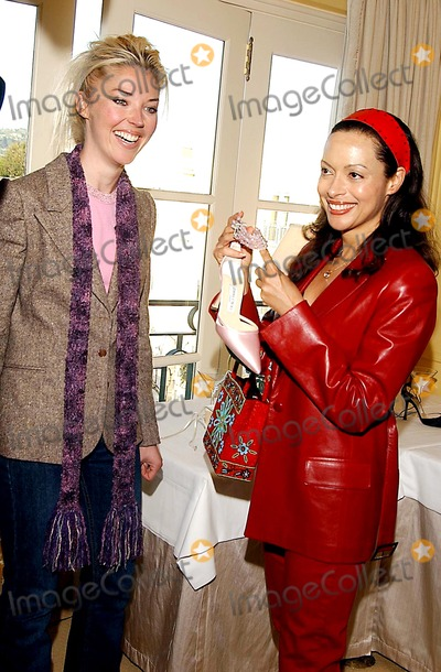 Jimmy Choo Photo -  Jimmy Choos Oscar 2002 Collection Peninsula Hotel Beverly Hills CA 03182002 Tamara Beckwith and Paula Coburn Photo by Amy GravesGlobe Photosinc2002 (D)
