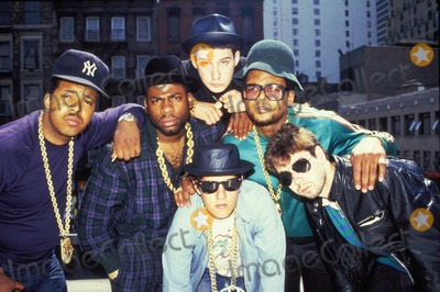 Ad-Rock Photo - Run-dmc (Run Jam Master Jay and Dmc) with the Beastie Boys (King Ad Rock Mca and Mike D) PhotoGlobe Photos Inc Obit