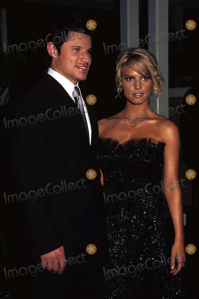 Jessica Simpson,Clive Davis Photo - Archival Pictures - Globe Photos - 54274