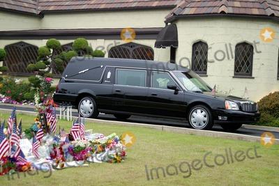 Former President Ronald Reagan,President Ronald Reagan,Ronald Reagan,THE GATES,Nancy Reagan Photo - Ronald Reagan Funeral