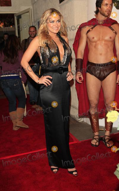 Carmen Electra Met Spartans Premiere