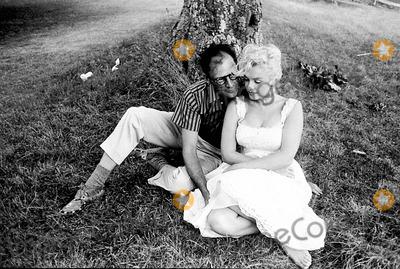 Marilyn Monroe,Arthur Miller Photos - Marilyn Monroe at Arthur Millers Estate Near Roxbury Conn Photo Bympc ProductionipolGlobe Photos Inc