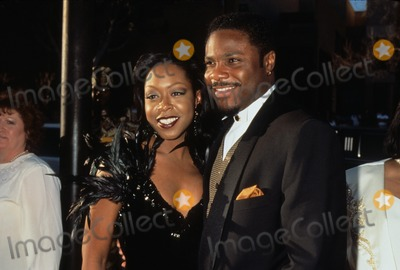 Malcolm-Jamal Warner,Tichina Arnold,MALCOLM JAMAL-WARNER Photo - Mark Arnold