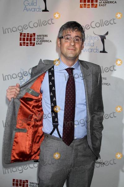 Mo Rocca Photo - MO Rocca at the 62nd Writers Guild Awards at Hudson Theatre W44st 2-20-10 Photos by John Barrett Globe Photosinc2010