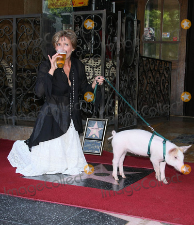 Emma Thompson Photo - Emma Thompson Monkey the Pig Actress Honored with a Star on the Hollywood Walk of Fame Hollywood CA 08-06-2010 Photo by Graham Whitby Boot-allstar-Globe Photos Inc 2010