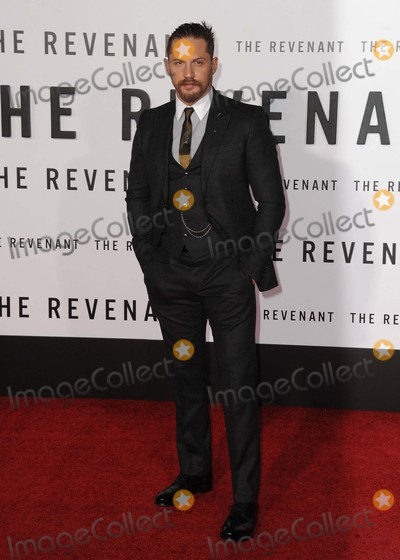 Tom Hardy Photo - Tom Hardy attending the Los Angeles Premiere of the Revenant Held at the Tcl Chinese Theatre in Hollywood California on December 16 2015 Photo by David Longendyke-Globe Photos Inc