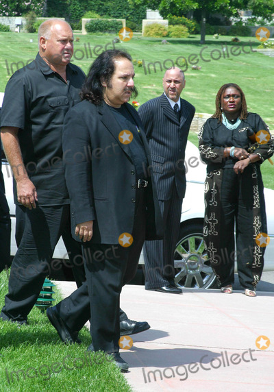 Rick James,Ron Jeremy Photo - Rick James Memorial Service