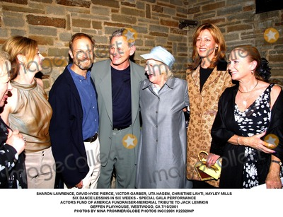 Uta Hagen Photo - SHARON LAWRENCE DAVID HYDE PIERCE VICTOR GARBER UTA HAGENCHRISTINE LAHTI HAYLEY MILLSSIX DANCE LESSINS IN SIX WEEKS - SPECIAL GALA PERFORMANCEACTORS FUND OF AMERICA FUNDRAISER-MEMORIAL TRIBUTE TO JACK LEMMONGEFFEN PLAYHOUSE WESTWOOD CA 7102001PHOTOS BY NINA PROMMERGLOBE PHOTOS INC2001 K22320NP